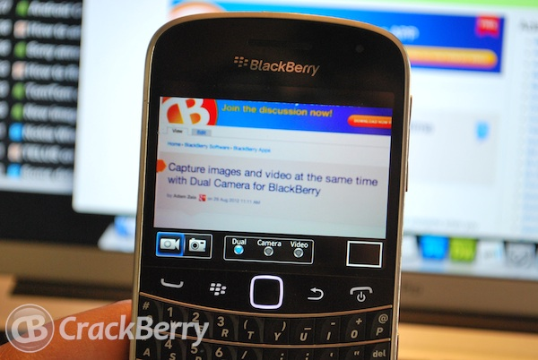 Dual Camera BlackBerry