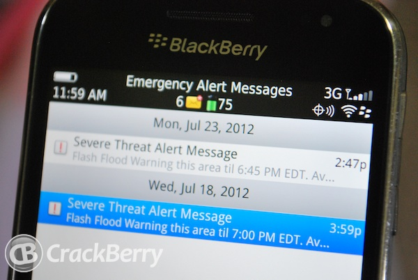 Emergency Alert Messages