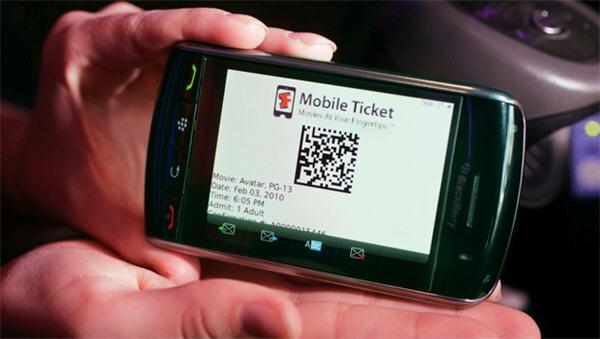 Fandango Barcode Tickets