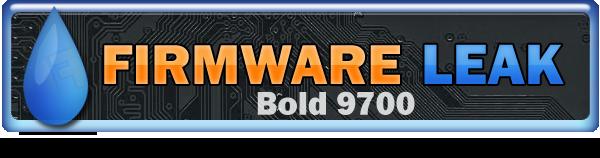 Bold 9700 OS Leak