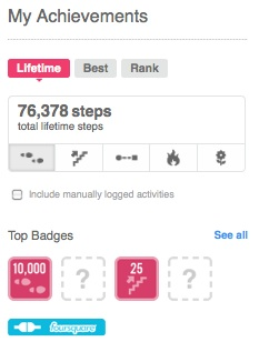 Fitbit Achievements