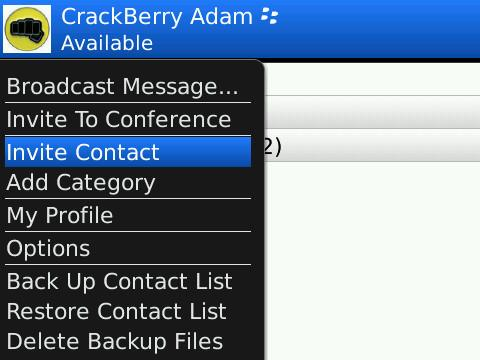 BlackBerry Messenger 5.0