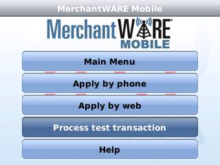 MerchantWARE Mobile