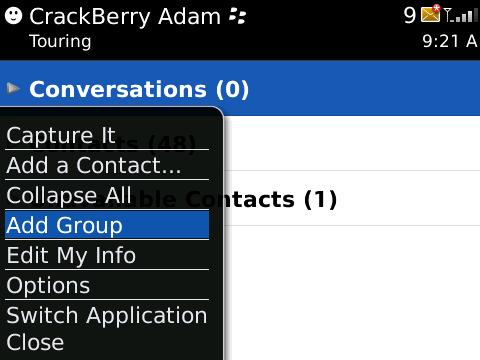How To Use BlackBerry Messenger