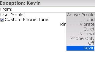 how to set custom ringtone in blackberry priv