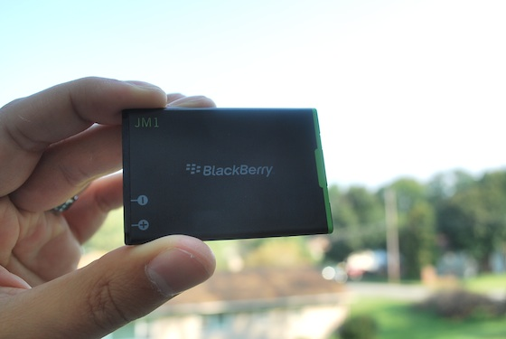BlackBerry J-Series Extra Battery Charger Bundle