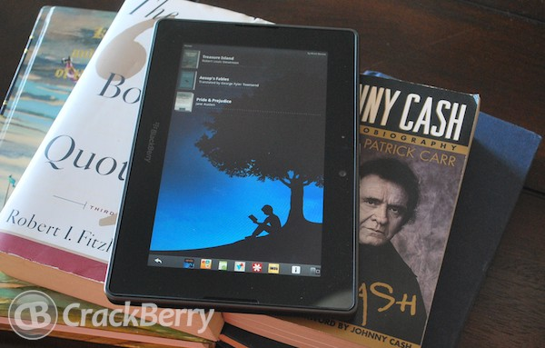 Amazon Kindle BlackBerry PlayBook