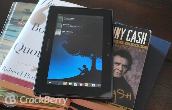 amazon kindle app for blackberry playbook