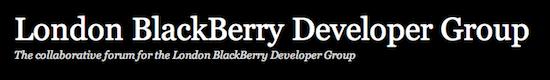 London BlackBerry Developers Group