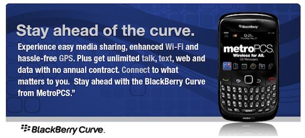 MetroPCS BlackBerry Curve 8530