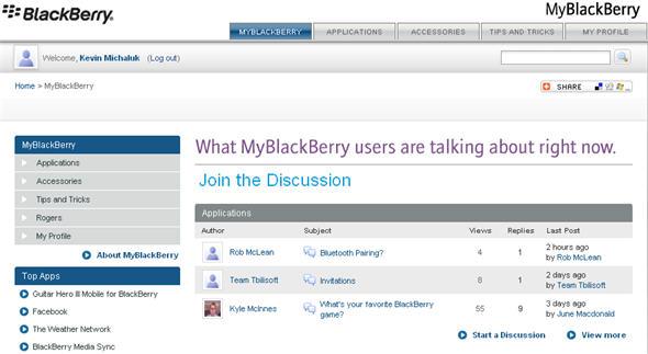 MyBlackBerry