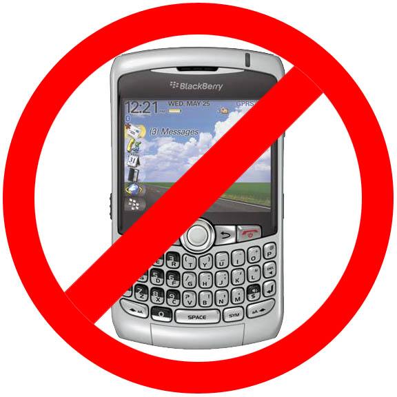 No BlackBerry Service