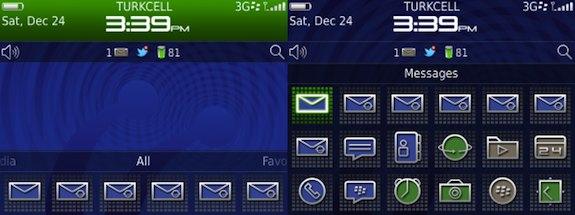 BlackBerry P9981 Theme