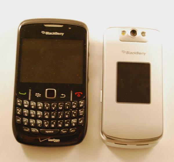 BlackBerry Curve 8530, Pearl Flip 8230