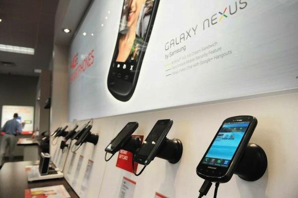 Verizon Phone Display