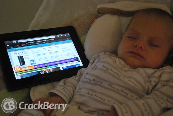 BlackBerry PlayBook Baby