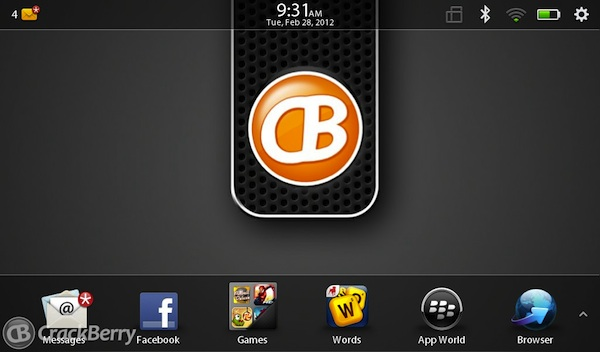 BlackBerry PlayBook Wallpaper
