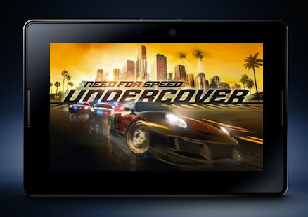 BlackBerry PlayBook Need for Speed Undercover