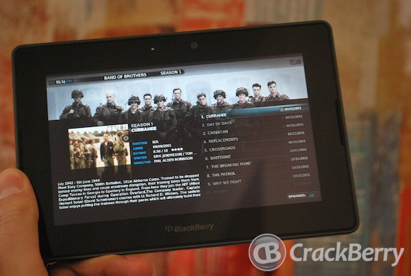 Plex BlackBerry PlayBook