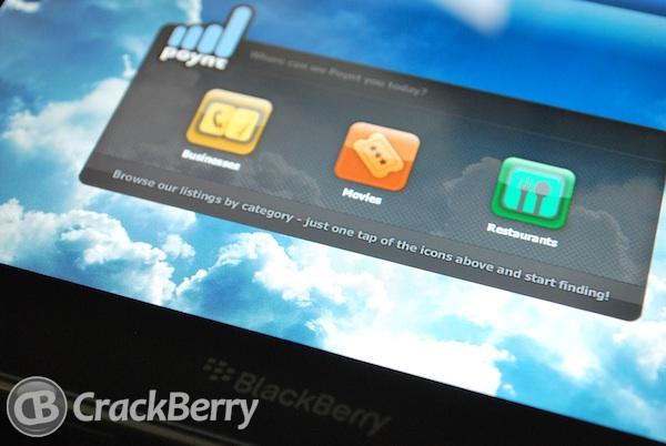 Poynt BlackBerry PlayBook