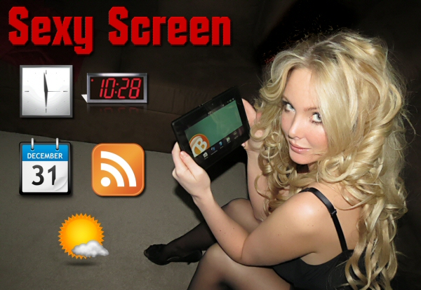 Sexy Screen BlackBerry PlayBook