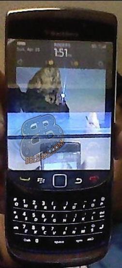 BlackBerry Slider 9800