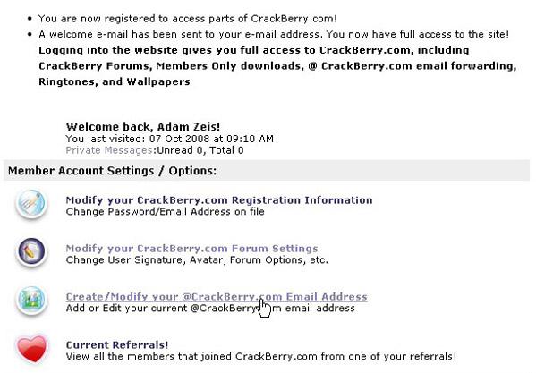 Modify mail