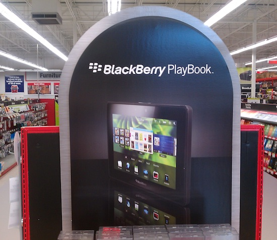 Staples BlackBerry PlayBook