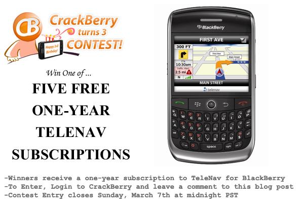 TeleNav Contest
