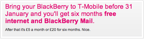 T-Mobile Free SIM