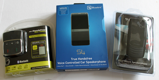 Bluetooth Speakerphone Shootout