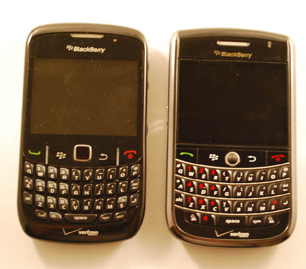 BlackBerry Curve 8530, Tour 9630