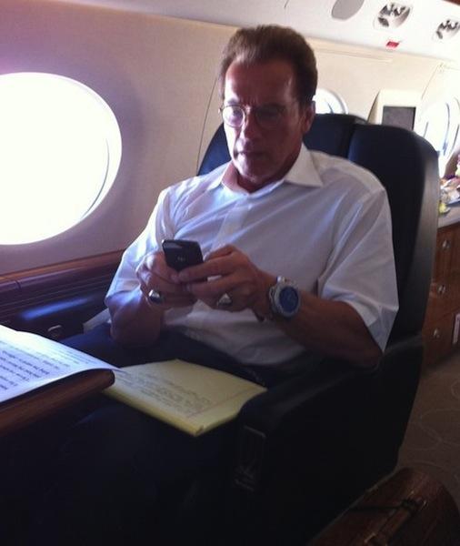 Arnold Schwarzenegger BlackBerry Bold 9700