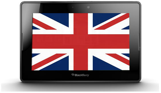 BlackBerry PlayBook UK