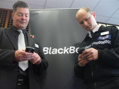 BlackBerry UK Police