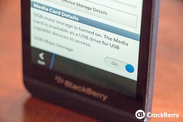 USB Storage Mode