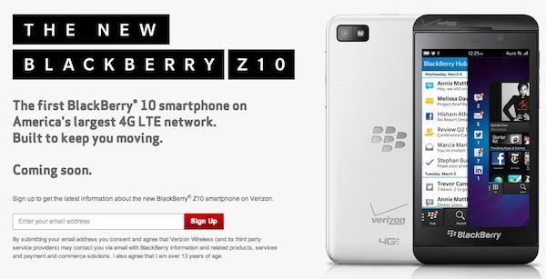 Verizon Z10