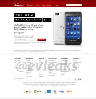 Verizon BlackBerry 10
