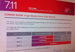 Virgin Mobile Pricing Plans