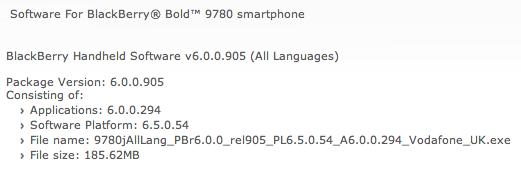 Vodafone UK OS 6.0.0.294