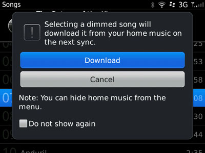 Wifi Music Sync