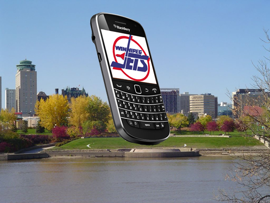 Winnipeg Jets CrackBerry