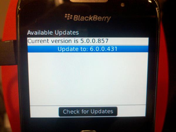 Verizon Curve 3G 9330 OTA update