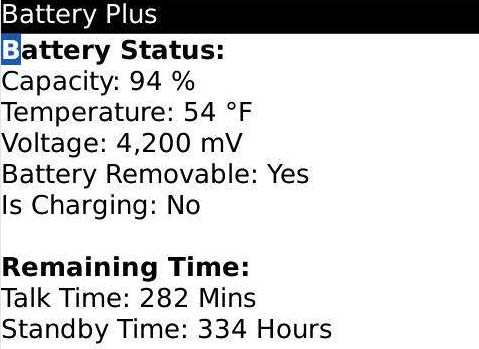 BatteryPlus v 2.2