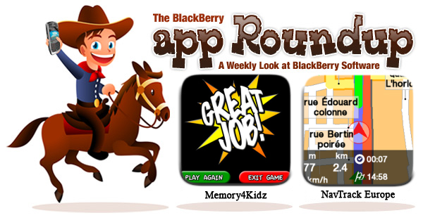 BlackBerry App Roundup Jan 7th