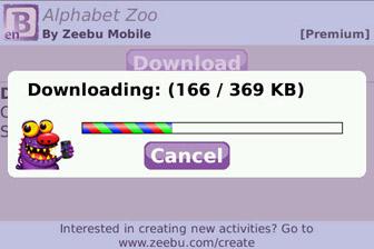 Baby GO! download activity