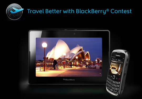 Travel Better with BlackBerry contest