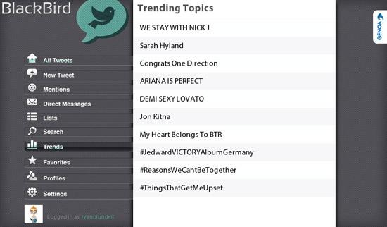 BlackBird Trending