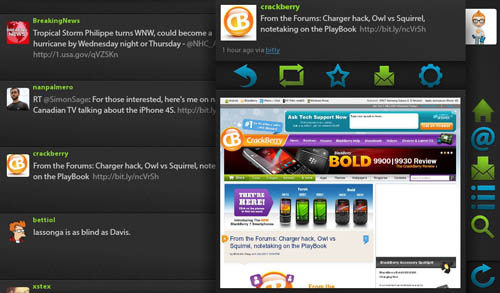 Blaq in app browsing