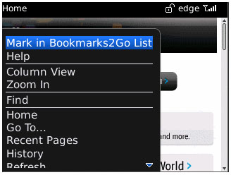 Bookmarks2Go